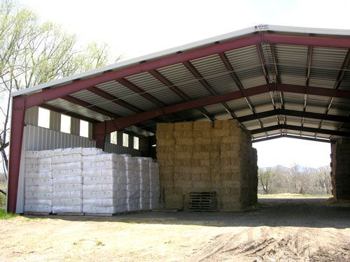 Hay Storage Shelters : Hay storage building for furniture row barns