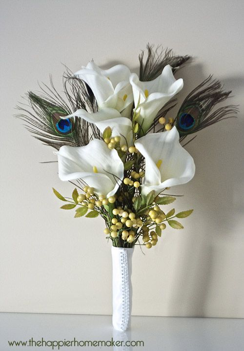 Vintage Inspired Ribbon Flower Wedding Bouquet #ribbonflower