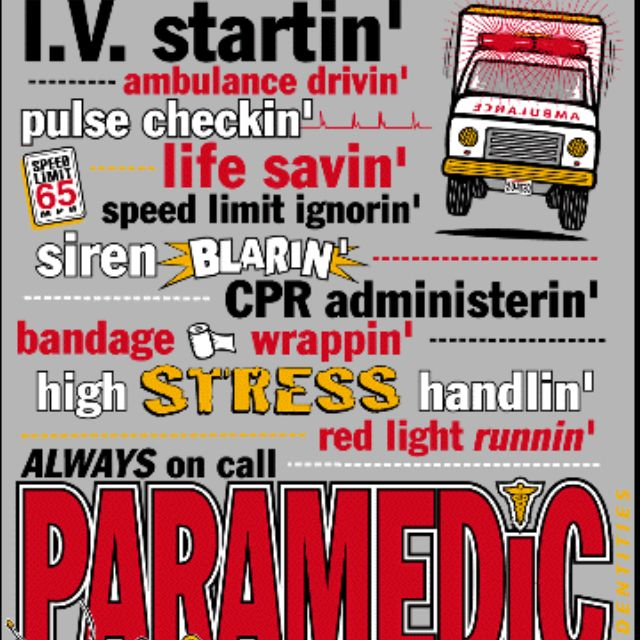 EMT Paramedic EMT The Shit Pinterest – Paramedic Job Description