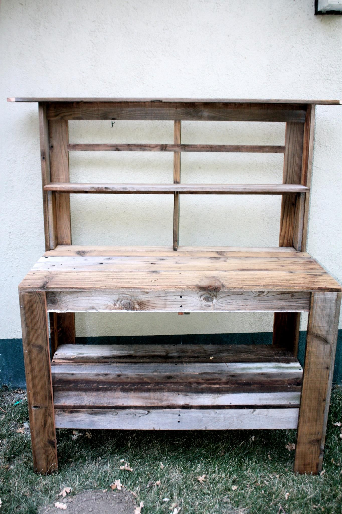 Potting Bench Craft It Pinterest