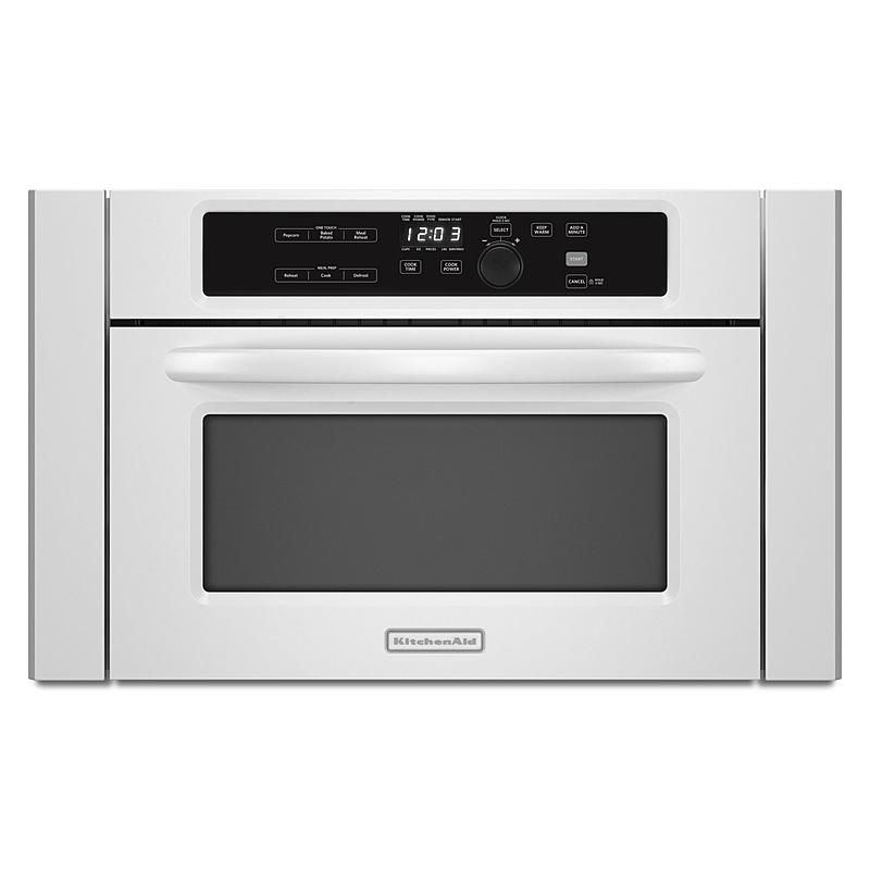 Gentil Featured Item: KitchenAid Built In Microwave Oven   White. Item Condition:  New Other. Protect Your Product With A Consumer Priority Service Warranty.