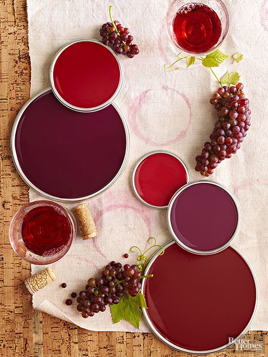 Dark Red Wine Colors Make Large Rooms Seem Cozy And Can Also Be Dramatic In Small Es Such As Powder Rich Ruby Burgundy Garnet A E