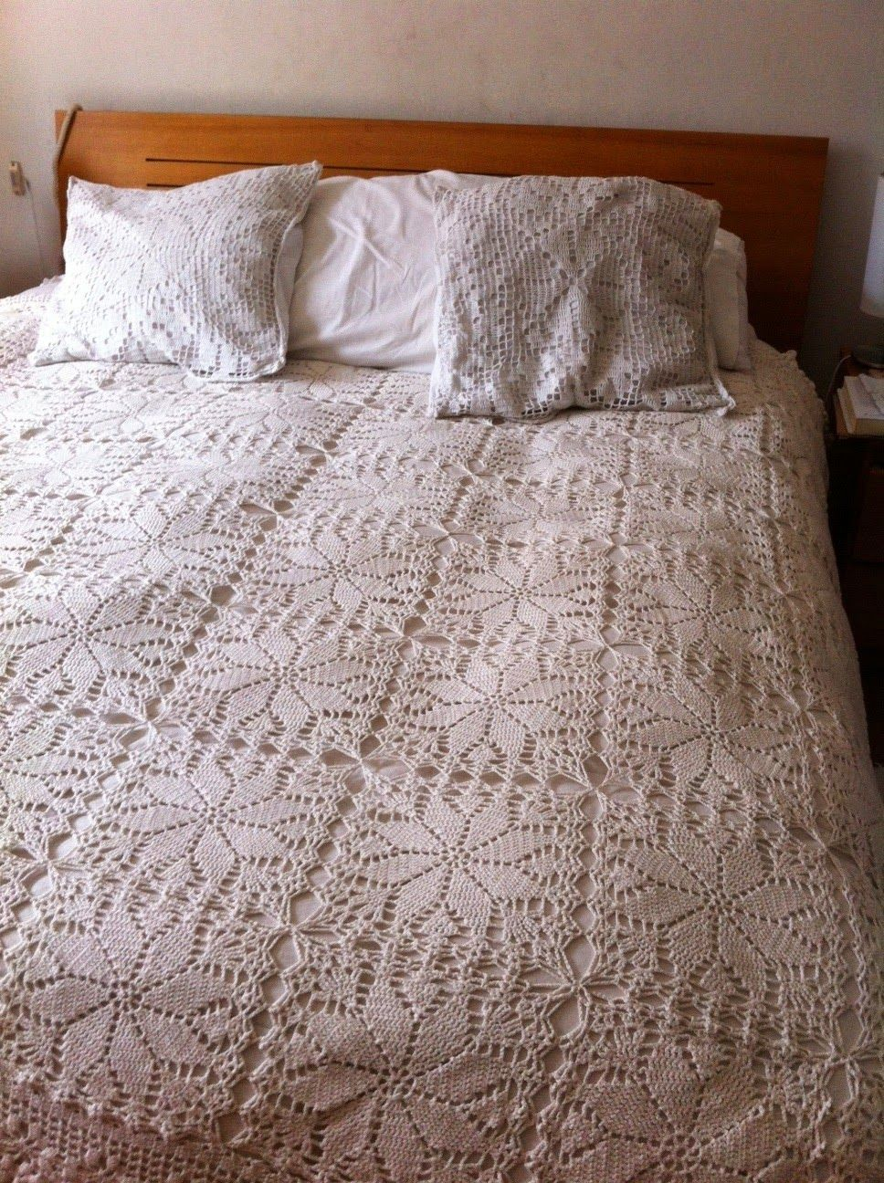 Crochet Bedspread Tutorial