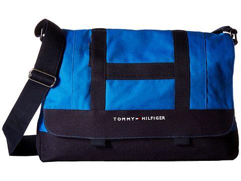TOMMY HILFIGER TH Sport - Core Plus Messenger. #tommyhilfiger #bags #shoulder bags #crossbody #cotton #