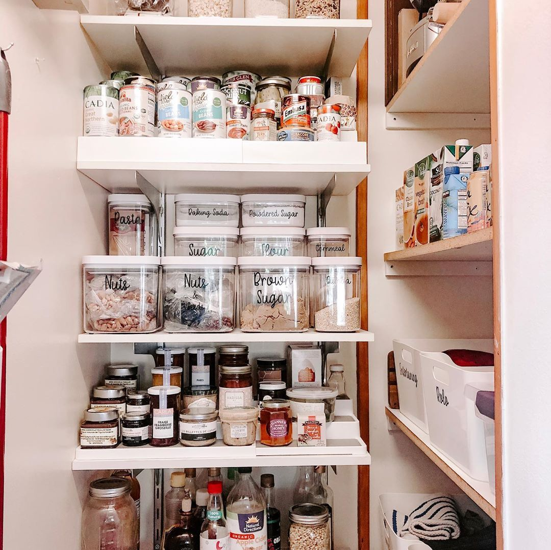 """Organized by Lisa on Instagram """"A quick pantry transformation ..."""