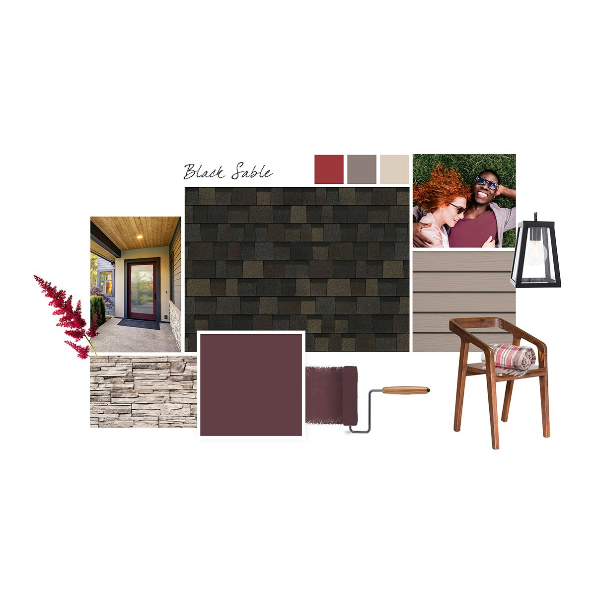 Best Black Sable Adds A Stateliness To This Updated Craftsman 400 x 300