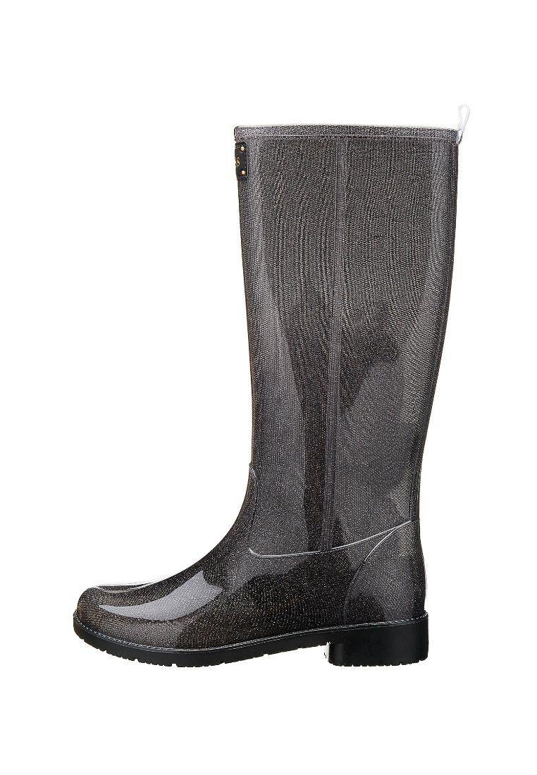 6fd4dfc07ee Bottes de pluie Guess RIKKI - Bottes en caoutchouc - black noir  37 ...