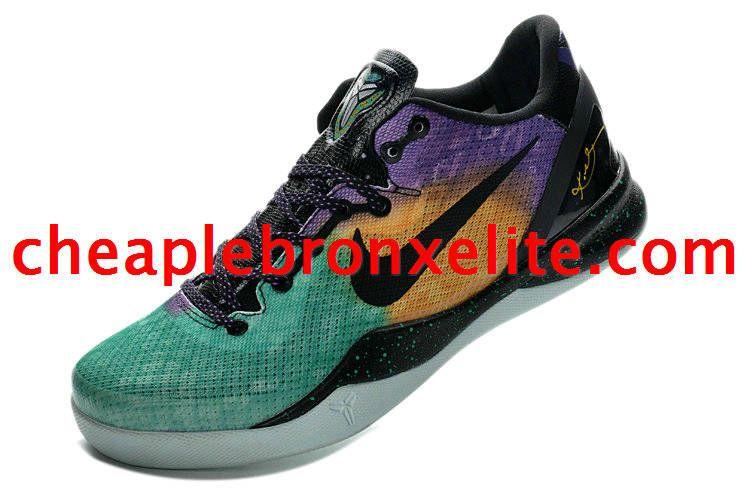 1c3398df3ae5 Kobe 8 Shoes Easter Fiberglass Court Purple Black Laser Purple Lawrence  Narvaez