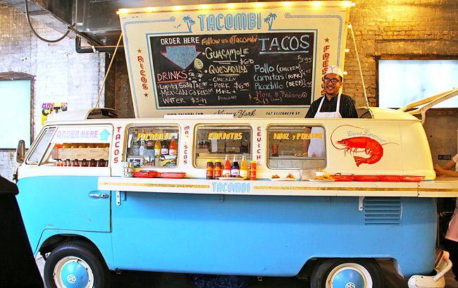 Tacombi nolita hearts nyc restaurants cafe for Food truck juice bar