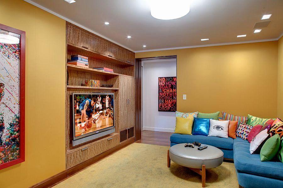 bedroom tv unit design best of contemporary media room