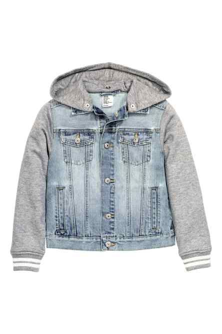 f036601a9 H M - Hooded denim jacket £19.99