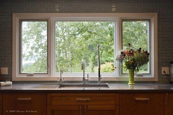 Kitchen Decorating Ideas Kitchen Window Dressing Kitchens Design Ideas Description From Pinterest Kitchen Window Design Kitchen Sink Window Window Over Sink