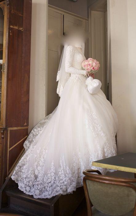 Brautkleid mit edler italienischer Spitze | Was mir gefällt ...