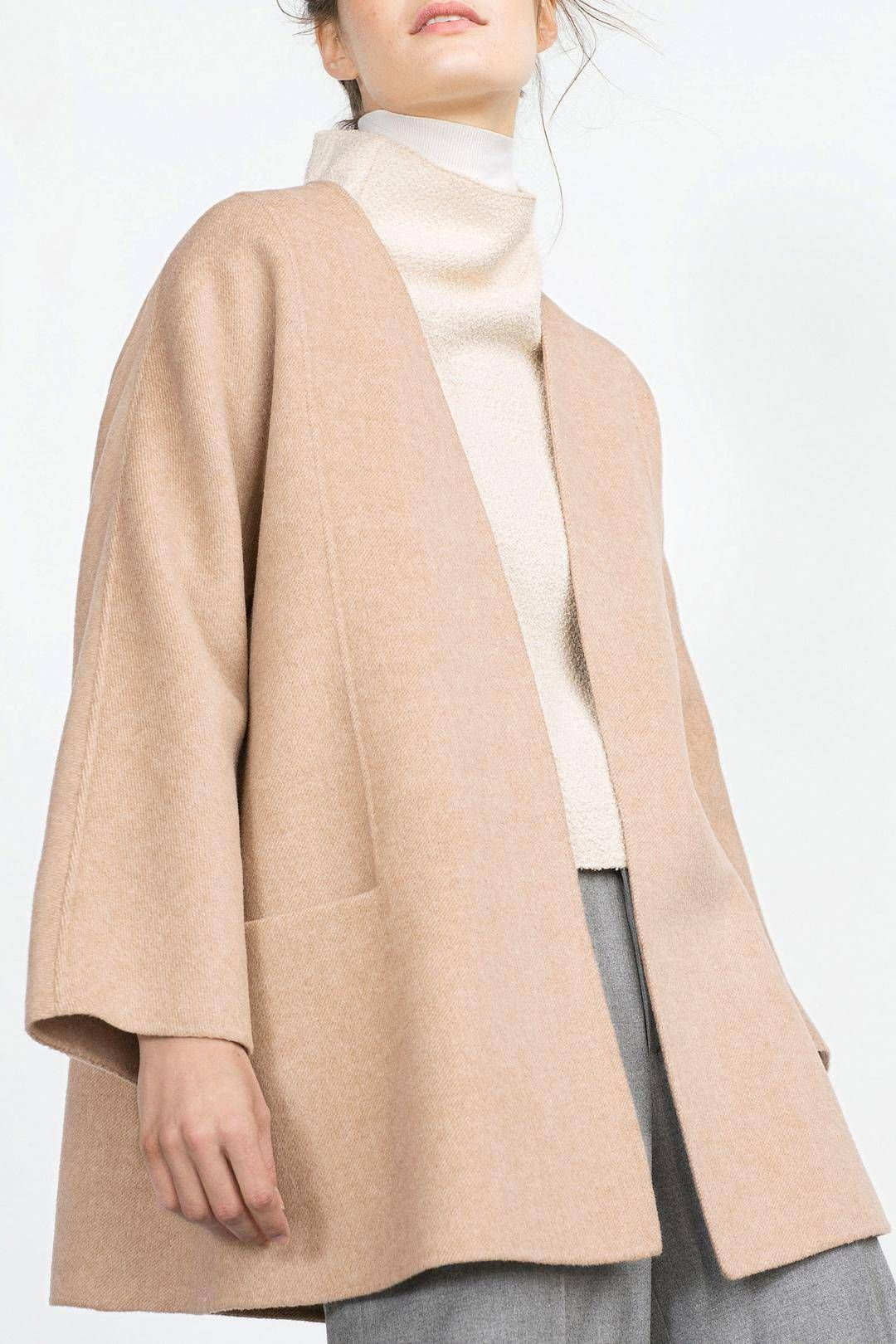 Duffle Coat with Pocket – US$49.95