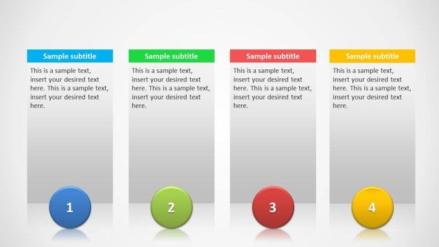 Columns Slide Design For Powerpoint  Slide Design And