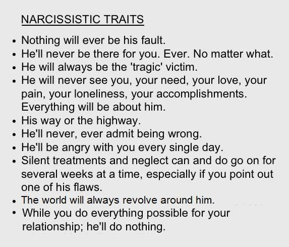 spouse of a narcissistic person
