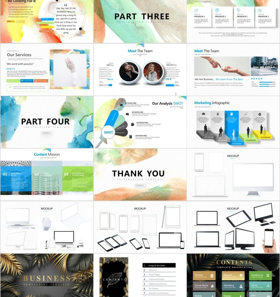 27+ yellow business plan report PowerPoint Template in