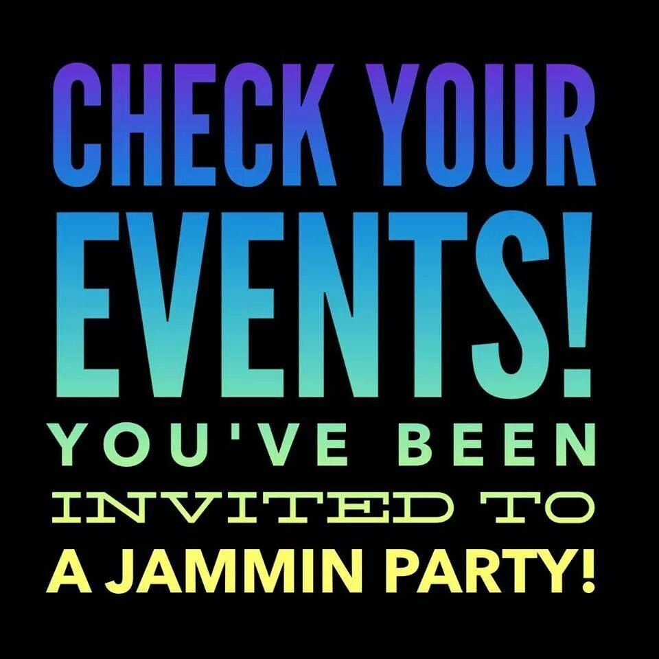 to remind invitees to check their events and rsvp jammin