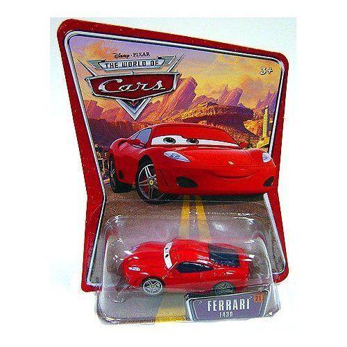 Ferrari F430 Michael Schumacher Disney Pixar World Of Cars Edition