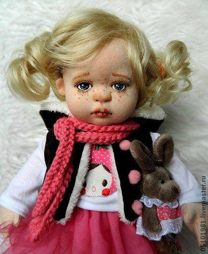 Про текстильных кукол Glorex