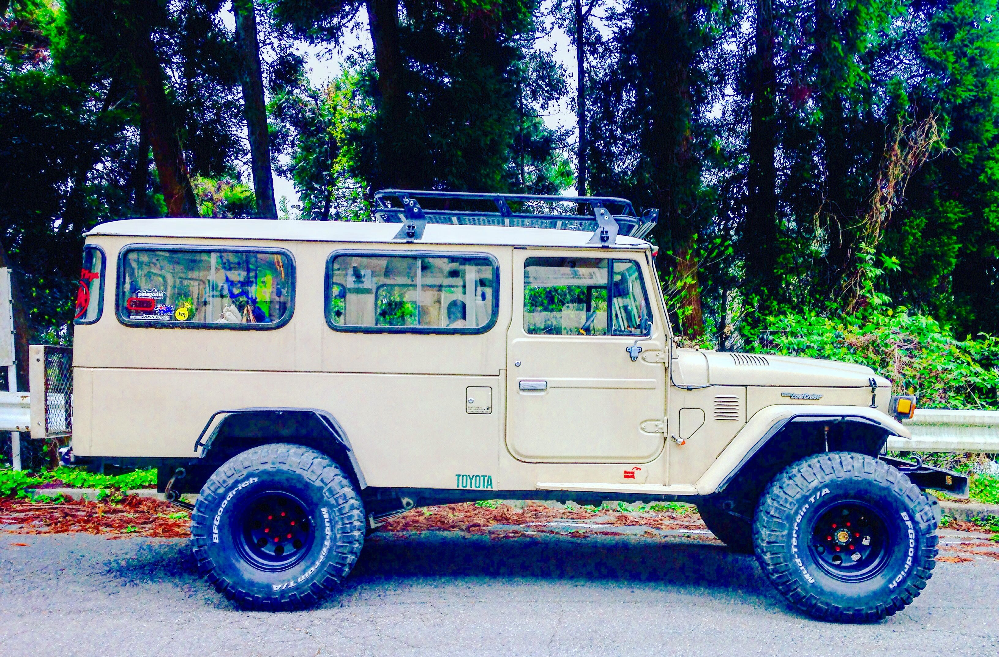 This Is Exactly What I Had Except I Had A Bull Bar And A Full Length Roof Rack Maybe One Day I Ll Get A Toyota Cruiser Toyota Land Cruiser Land