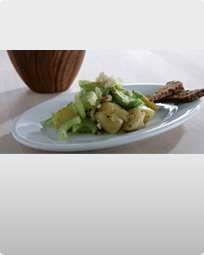 Kartoffel og avocadosalat