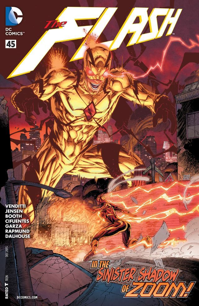 The Flash 2011 2016 45 Comics By Comixology Comics Dc Comics Brett Booth