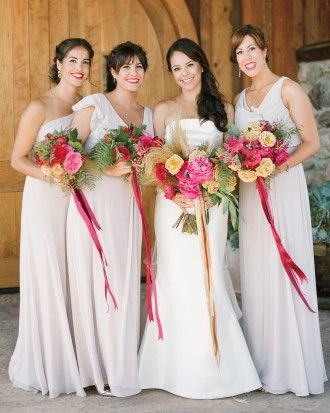 """See the """"The Bridesmaids"""" in our Corinne and Patrick's Wine Country Wedding gallery"""