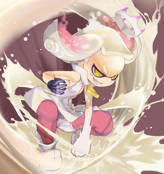 Pin by 3njeru on Nintendo Power! Splatoon, Pearl fanart