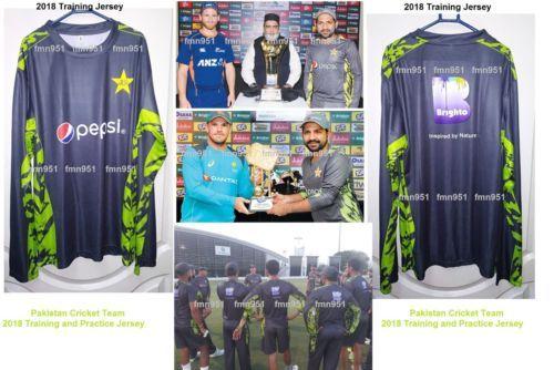 3c275a817 Pakistan Cricket Team New 2018 Practice Training Shirt T-Shirt Jersey All  Size