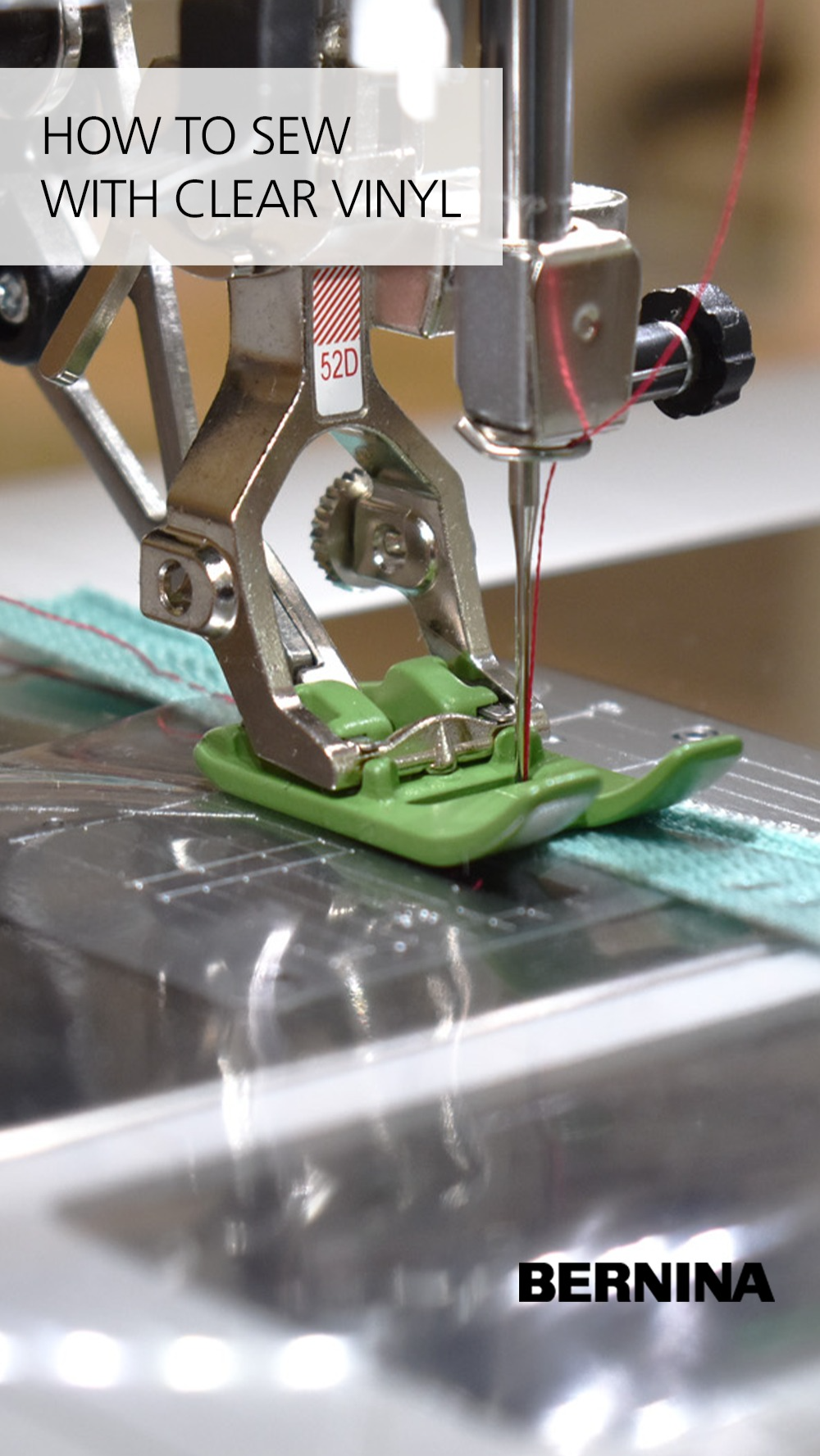 How to Sew with Clear Vinyl