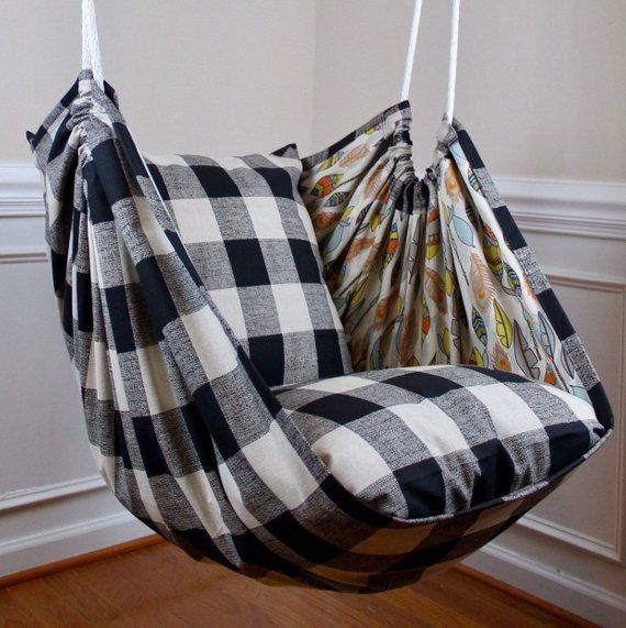 Hammock Chair Swing | Buffalo Check