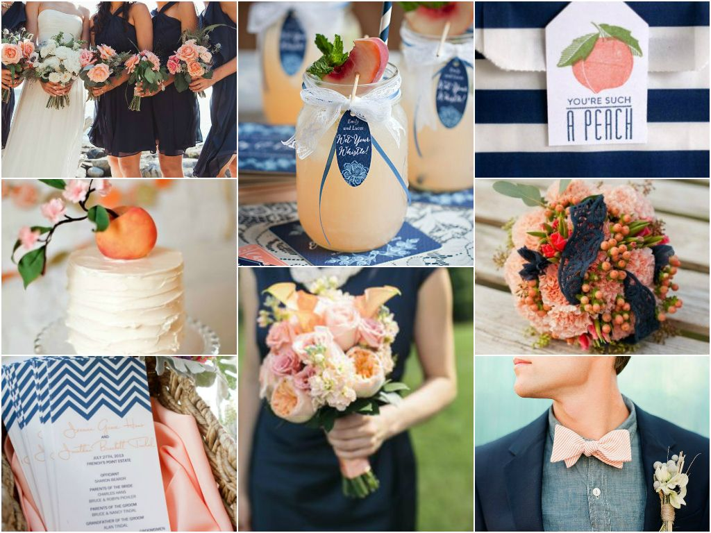 Navy Blue Wedding Color Combinations Galleryhip The