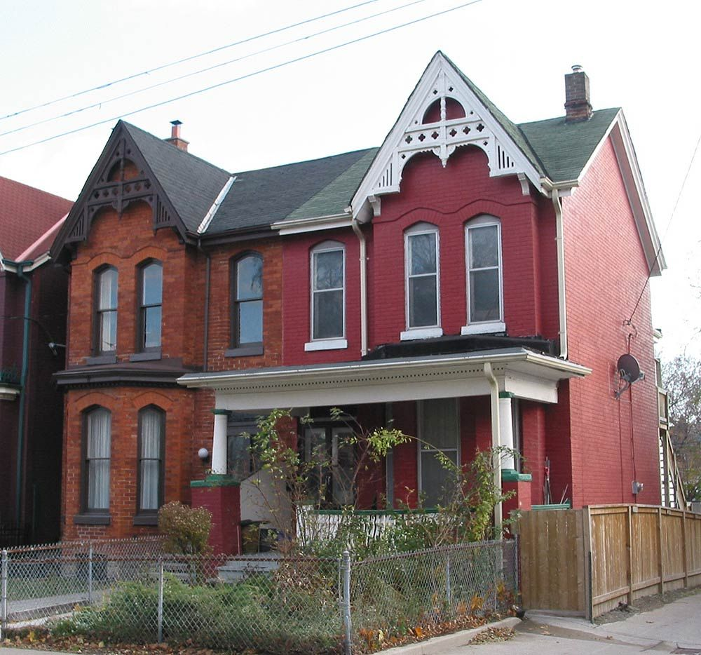 Gothic Revival Architecture | Gothic Revival Architecture on Amelia Street | Cabbagetown Info