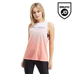 328200bc0e Pink Soda Sport Knot Back Vest Top   S P O R T Y .   Athletic tank ...
