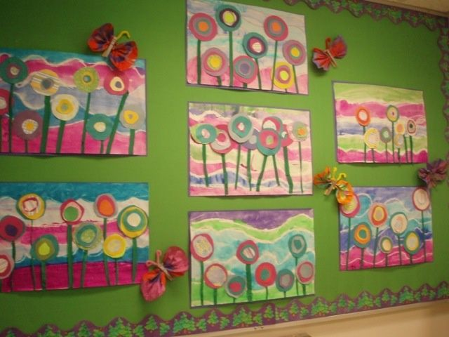 Pin by Carol Dike on Art | Spring art projects, Elementary art