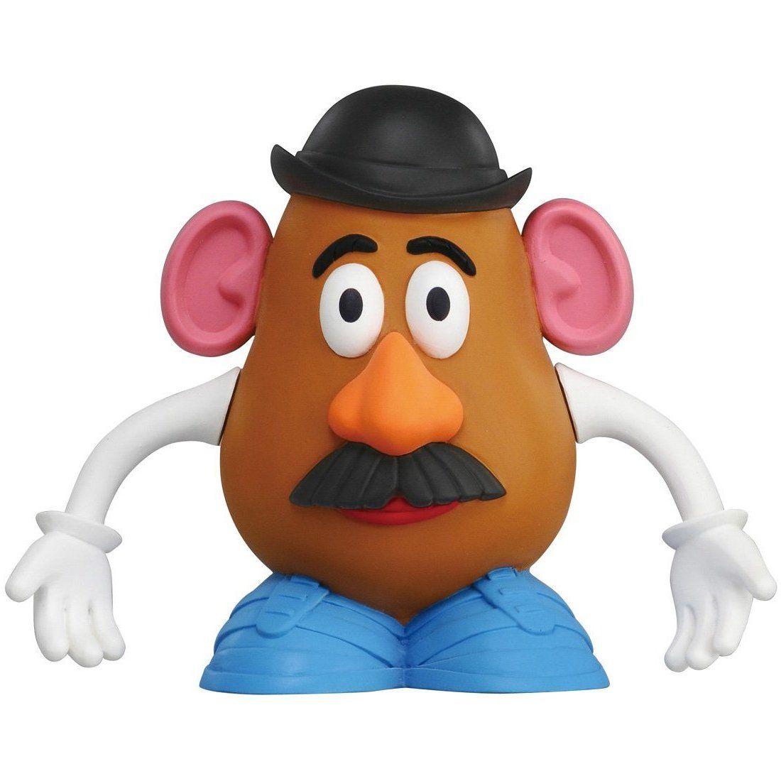 Clip Mr Potato Art Kiss Head