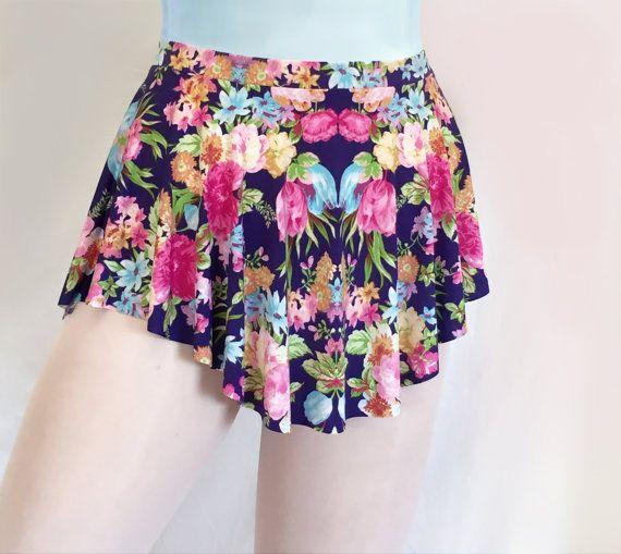 Spring Floral Print Ballet Dance Skirt by Royall Dancewear on Etsy -- SAB skirt--