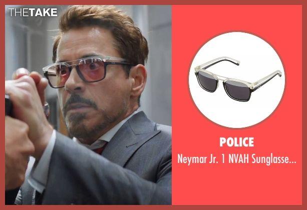 e3eca03c1a Police Neymar Jr. 1 NVAH Sunglasses (Modified) as seen on Tony Stark   Iron  Man in Captain America  Civil War