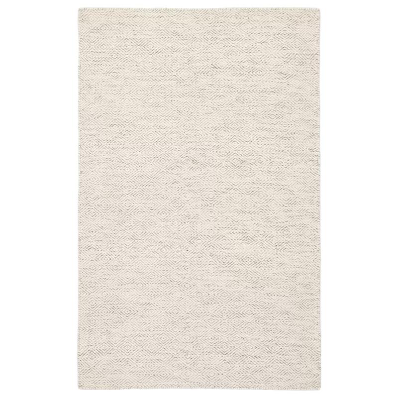 Garney Geometric Handmade Flatweave Wool Ivory Area Rug Trellis Pattern Rug Area Throw Rugs Trellis Pattern