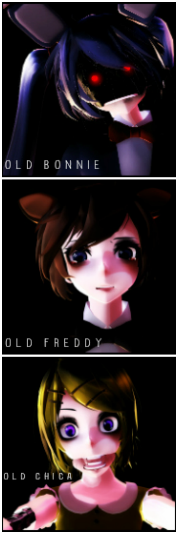 FREE icon pack Five Nights at Meiko's OLD by PokiePunk