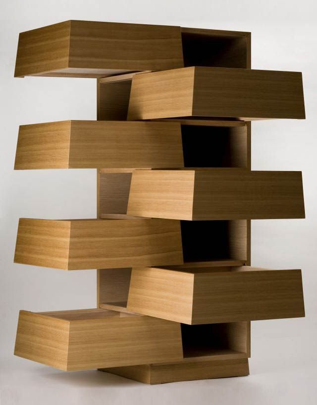 Strange furniture | ... Drawers by NOSIGNER » Cartesia Drawers ...