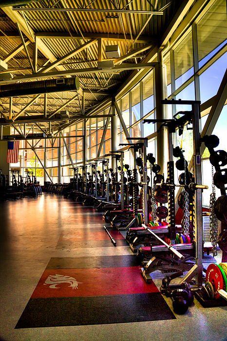 The Weight Room Washington State University My Wsu And Pullman Photography Pinterest