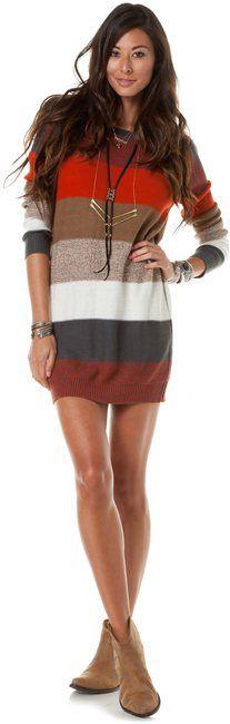 Sweater Dress by bbdakota #Dress #bbdakota  이옷잘어울리는여자만나서  이옷사주고싶다 ㅋㅋㅋㅋㅋ