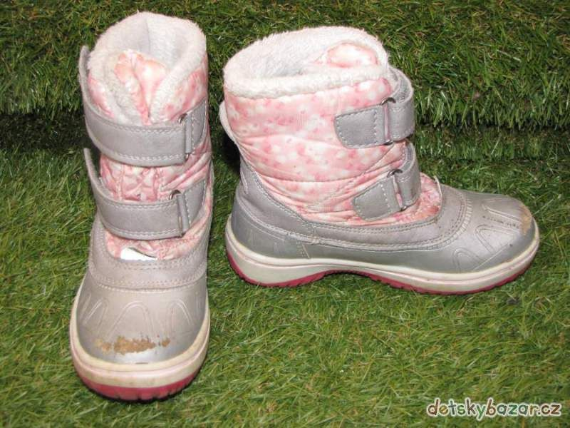 Zimní boty sněhule zn.Lupilu vel. 27 - Dětský bazar.cz  3067e954f2