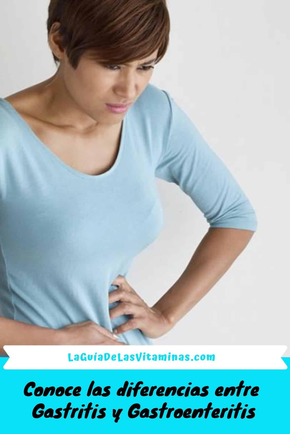 que diferencia hay en gastritis y gastroenteritis