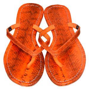 Mystique orange sandals