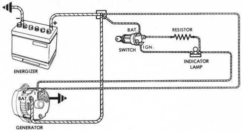 10+ gm generator wiring diagram - wiringde.net in 2021 | alternator, car  alternator, electrical circuit diagram  pinterest