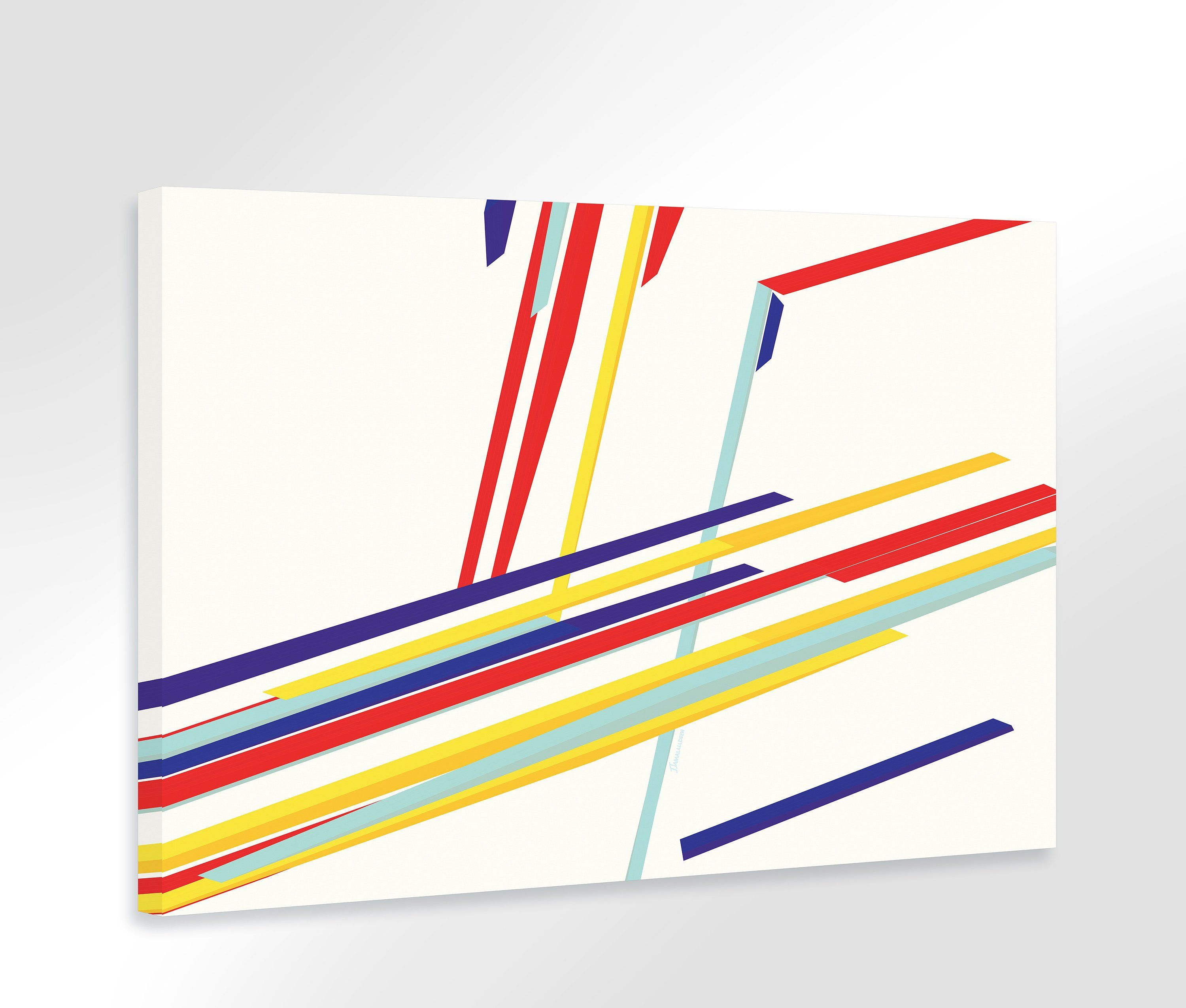Extra large wall art print stretched canvas abstract painting