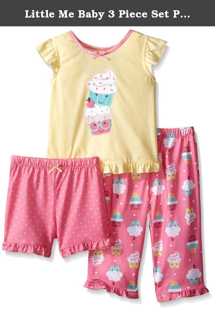 246d9ef3b Little Me Baby 3 Piece Set Pajama